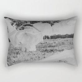 Not With Haste Rectangular Pillow