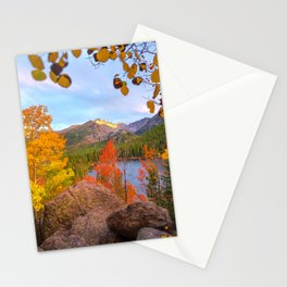 Fall In The Rocky Mountains Stationery Cards
