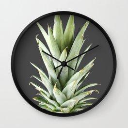 Dark pineapple Wall Clock