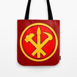 Workers Party of Korea emblem symbol Tote Bag