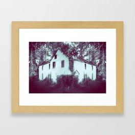 House of Leaves Framed Art Print