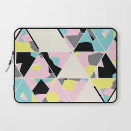 triangle no.3 / with love Laptop Sleeve