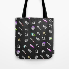 Occult Pattern Inverse Tote Bag