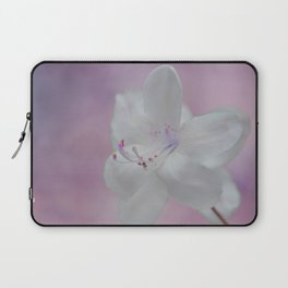 Purity in White Laptop Sleeve