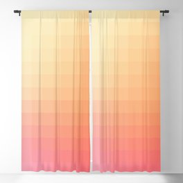 Lumen, Pink and Orange Light Blackout Curtain