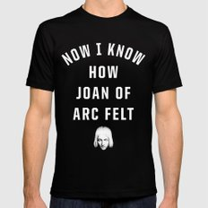 Joan of Arc MEDIUM Mens Fitted Tee Black