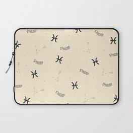 Pisces Pattern - Beige Laptop Sleeve