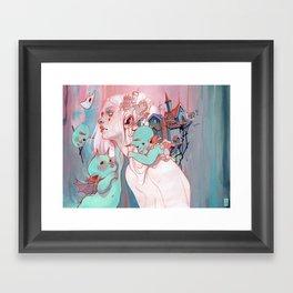Scatterling Framed Art Print