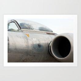 Avro Canada CF-100 Art Print
