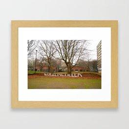 The Heygate Estate (2) Framed Art Print