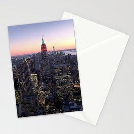 NYC - Skyline Stationery Cards