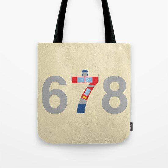 Prime Number Tote Bag