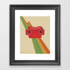 Model J Framed Art Print