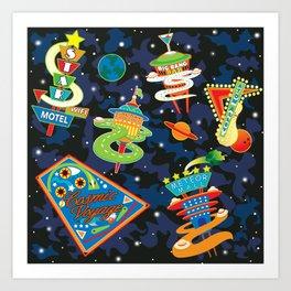 Cosmic Voyage Art Print