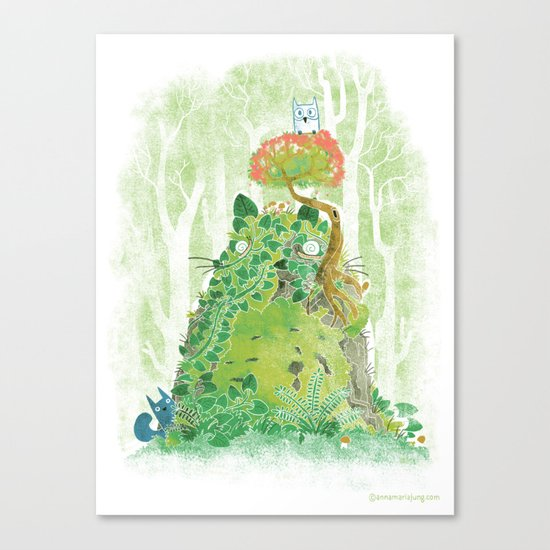 The Friendly Spirit Canvas Print
