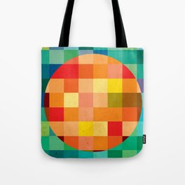 Color player Tote Bag
