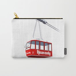 Heavenly Cable Car Carry-All Pouch