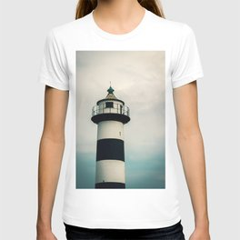 Lighthouse in the Storm Clouds #2 T-shirt