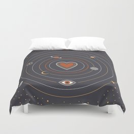 Love Universe Duvet Cover