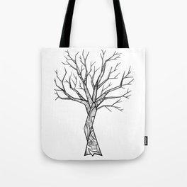Last Past Tree Tote Bag