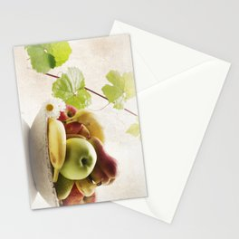 Fresh Fruits Stationery Cards
