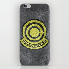 Capsule Corp. iPhone & iPod Skin