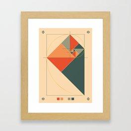 Fibonacci Experiment I Framed Art Print