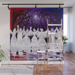 Midnight Prayers for the Living Sisters Wall Mural
