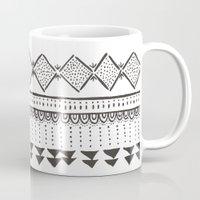 mexico Mugs featuring Mexico by Marta Li