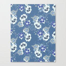 romantic floral Canvas Print
