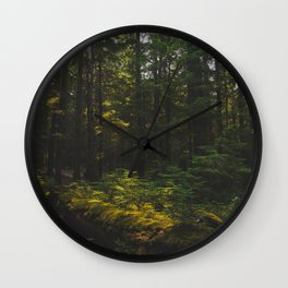 Mt Hood National Forest - Pacific Crest Trail, Oregon Wall Clock