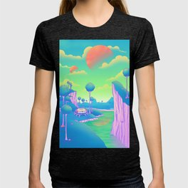Planet Namek T-shirt