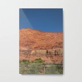 Colorful Mesas 4 - Desert Southwest  Metal Print