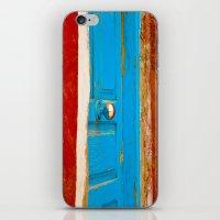 door iPhone & iPod Skins featuring Door by Maite Pons