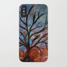 Abstract/palette knife  iPhone Case