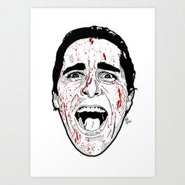 Mr Bateman Art Print