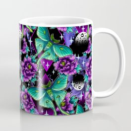 Luna Moth Pattern Coffee Mug