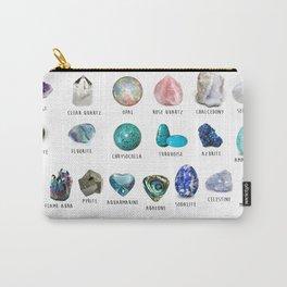 crystals gemstones identification Tasche