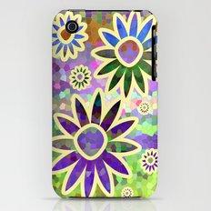 Retro Flower Slim Case iPhone (3g, 3gs)