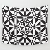 compass Wall Tapestries featuring Compass by Vadeco