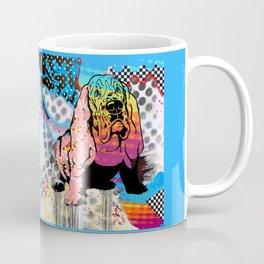 Basset pop art Coffee Mug