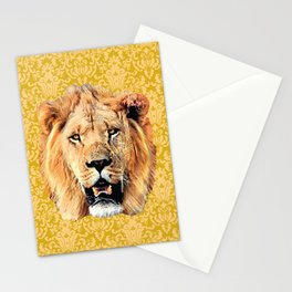 Mustard Courage Stationery Cards