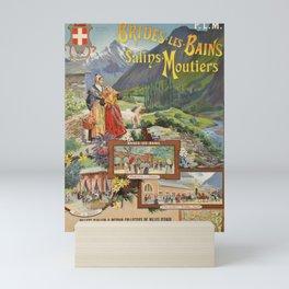 Classic brides les bains et salins moutiers billets a prix reduits bain Mini Art Print