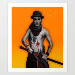 Killer on the Loose Art Print