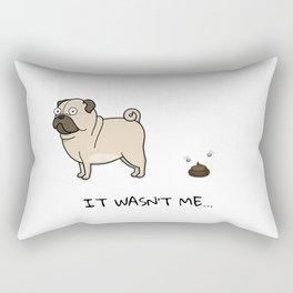 It wasn't Me Rectangular Pillow