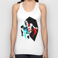anonymous Tank Tops featuring anonymous by Flo Zero