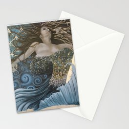 Mermaid Bliss Stationery Cards