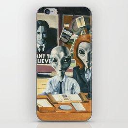 X-Files - Agent Grey iPhone Skin