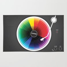 Pantune - The Color of Sound Rug
