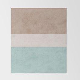beach classic Throw Blanket